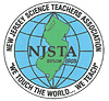 the logo of the new jersey science teachers association