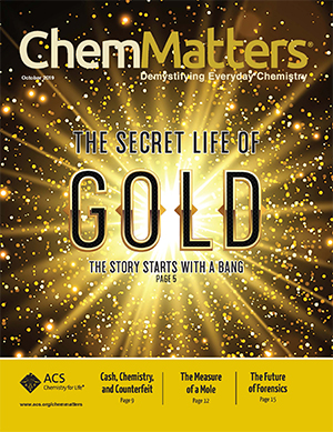 Chemmatters cover gold smaller