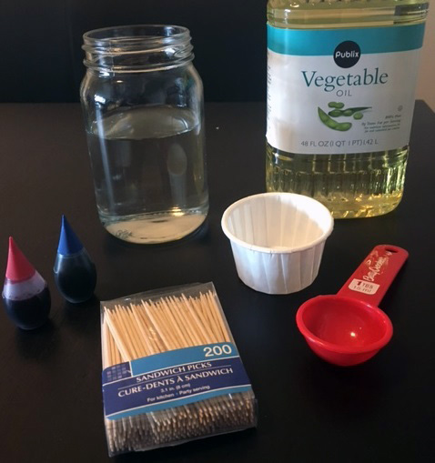 Activity colorworksjar materials