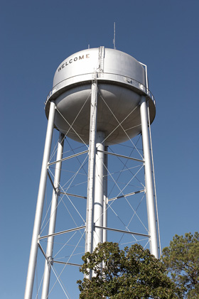 a watertower